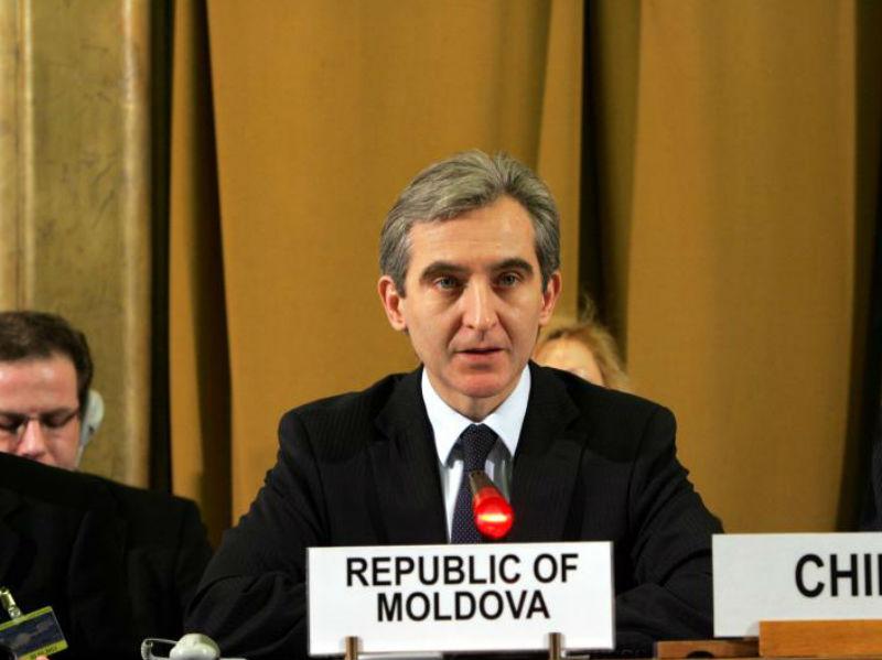 Iurie Leancă, premier Mołdawii. (CC By NC ND UN Geneva)