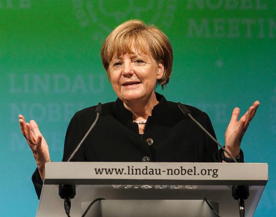 Angela Merkel, (Fot. Rolf Schultes/Lindau Nobel Laureate Meetings)