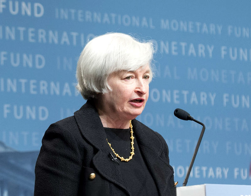 Janet Yellen, szefowa Fed. (CC By NC ND IMF)
