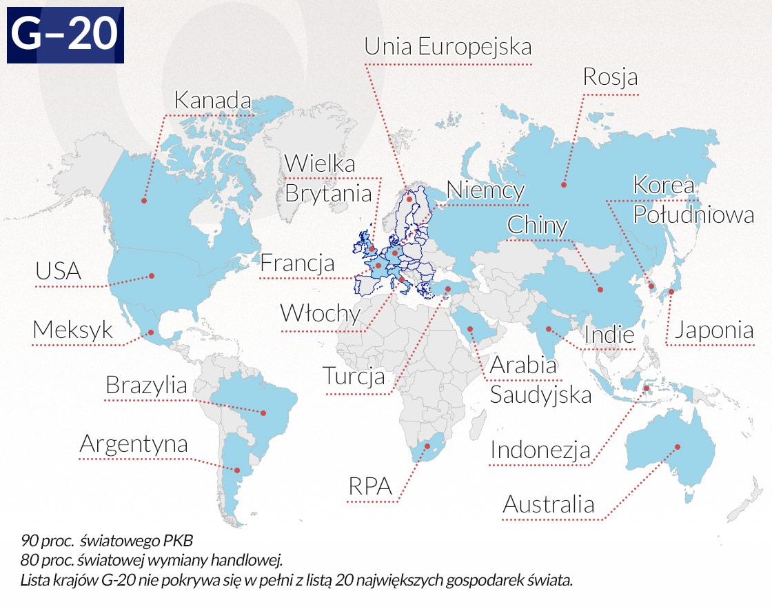 Polska na G-20 jeszcze nie zasłużyła
