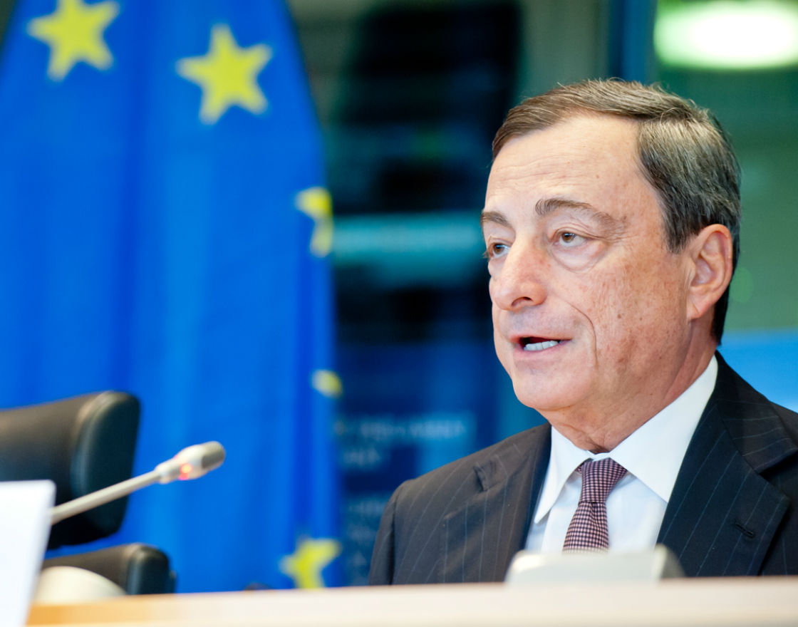 Nowy bilion euro od Draghiego