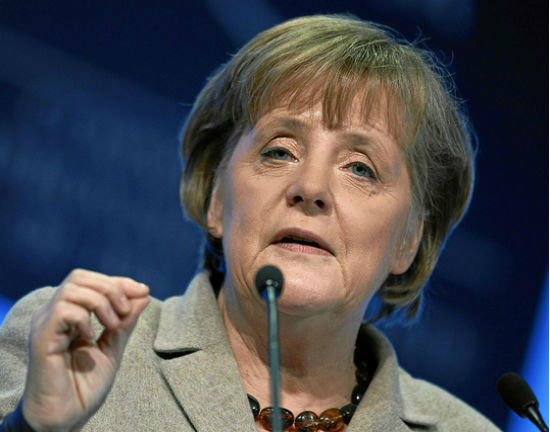 Angela Merkel (CC BY-NC World Economic Forum)