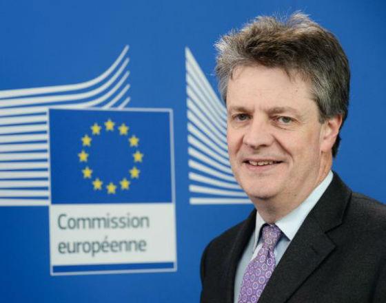 Jonathan Hill, komisarz ds. stabilności finansowej, usług finansowych i unii rynków Jonathan Hill (fot. KE)