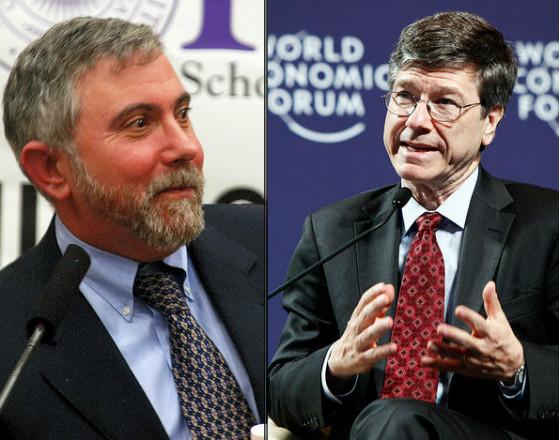 Sachs i Krugman: stare pytania w nowym roku