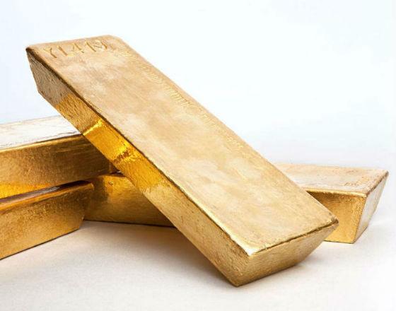 Kryzys na Ukrainie zapobiegł spadkowi cen złota
