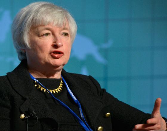 Janet Yellen, przewodnicząca Rezerwy Federalnej.  (CC By Day Donaldson)