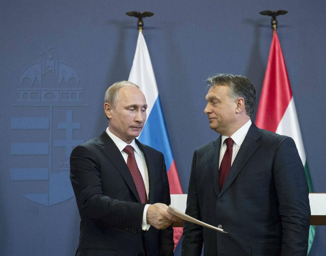 Putin, Orbán – dwa bratanki