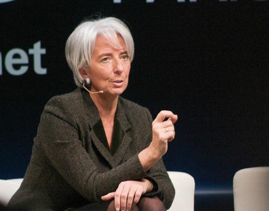 Christine Lagarde (CC BY-ND Adam Tinworth)