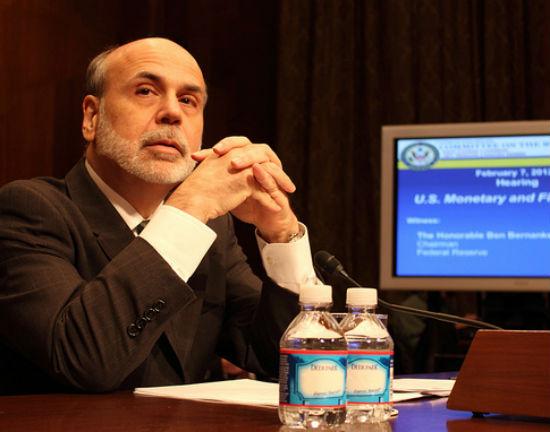 Ben Bernanke  DC CC BY Medill