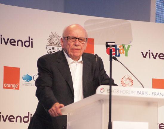 Rupert Murdoch (CC BY-SA Aaron Fulkerson)