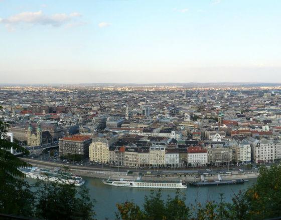 Panorama Budapesztu (CC BY-NC-ND Istvan)