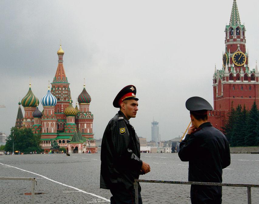 Moskwa, Plac Czerwony. (CC By NC Kelly)