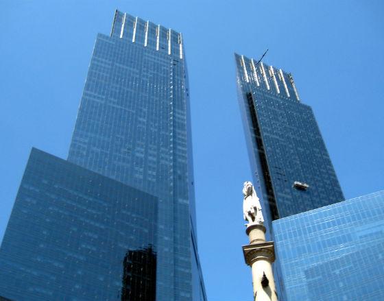 Time Warner Center na Manhattanie - siedziba firmy która dokonała największego przejęcia w tym roku (CC BY-NC-ND Wally Gobetz)