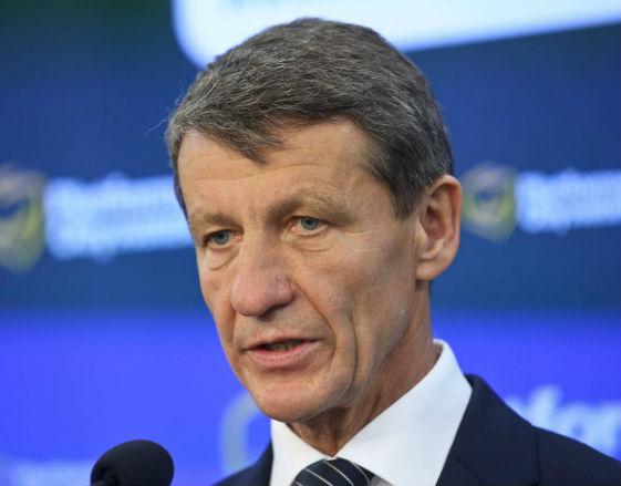 Andrzej Czerwiński, minister skarbu państwa (fot. PAP)