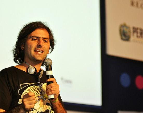 Julián Ugarte (Campus Party Brasil CC BY-SA 2)