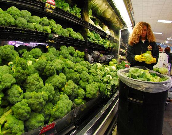 Supermarkety to w Polsce jeden z największych kontrahentów agencji zatrudnienia. (CC By NC Bob Jagendorf)