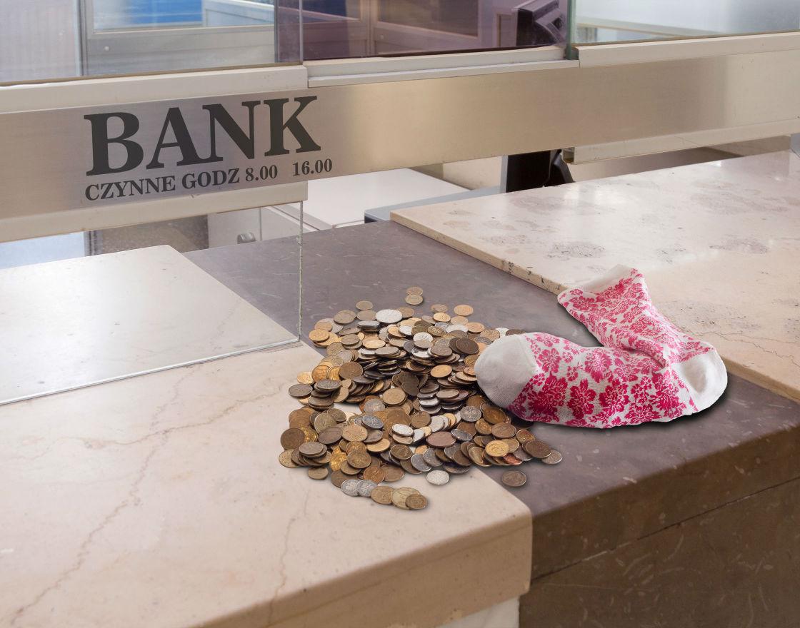 Bank powinien schylić się nawet po stówkę