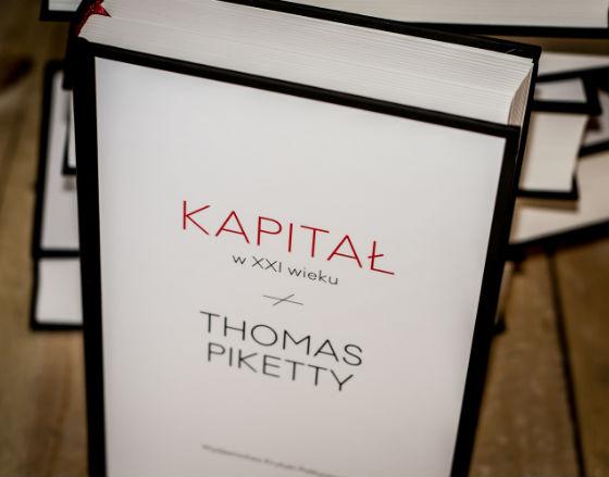 Thomas Piketty 'Kapitał w XXI wieku' (Fot. Wydawnictwo Krytyki Politycznej)
