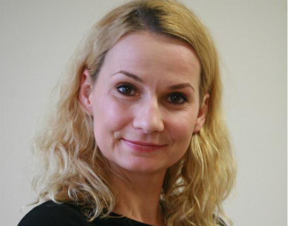 Iza Chmielewska (Fot. Włodzimierz Dąbkowski/NBP)