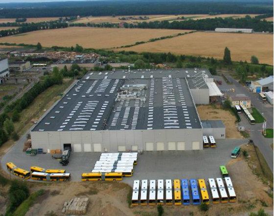 Fot. Fabryka Solaris w Bolechowie (CC-BY Wikipedia)