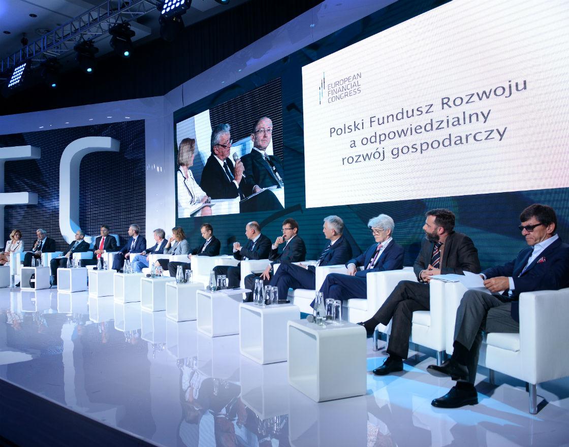 Ogłoszenie rekomendacji na EKF. (Fot. EKF/K.Pędziszewski)