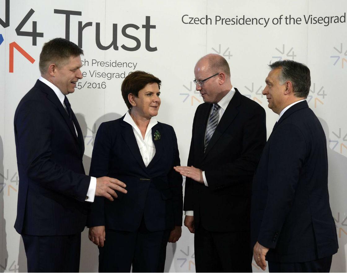Polska określiła cztery priorytety prezydencji w Grupie Wyszehradzkiej