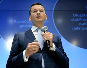Wicepremier Mateusz Morawiecki (Fot. PAP)