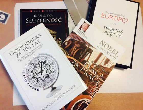 Wszyscy wyróżnieni w tegorocznym konkursie otrzymają również książki.