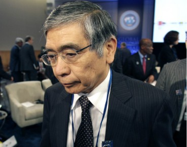 Haruhiko Kuroda stoi na czele Banku Japonii od 2013 roku (Fot. CC BY-NC-ND International Monetary Fund)