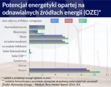 Zielona energia gdzieniegdzie maszeruje, ale głównie kroczy