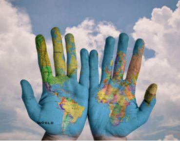 rece ziamia mapa globalizacja