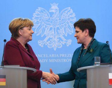 Merkel Szydlo Polska PAP