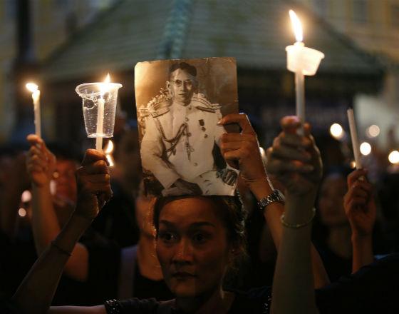 Tajlandia: pieniądz w cieniu żałoby