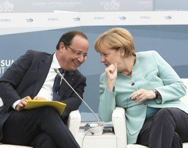 Hollande Merkel CC By NC ND Herman van Rompuy