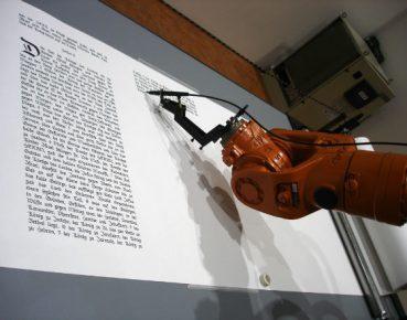 Kuka robot CC By brett jordan
