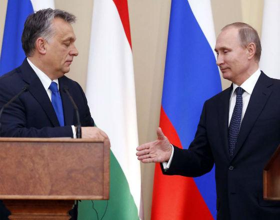 Gospodarcze aspekty wizyty Putina w Budapeszcie