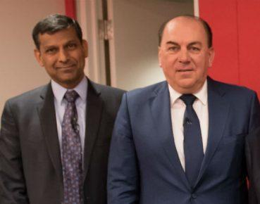 Raghuram Rajan i Axel Weber (CC BY NC ND 2.0 International Monetary Fund)