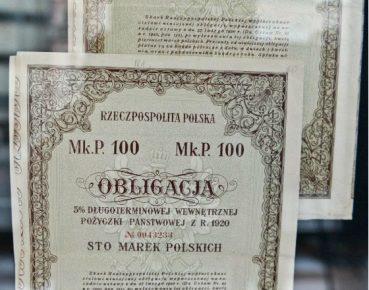 Obligacje Fot PAP
