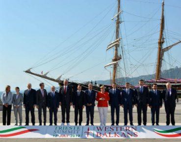 szczyt w Triescie PAP