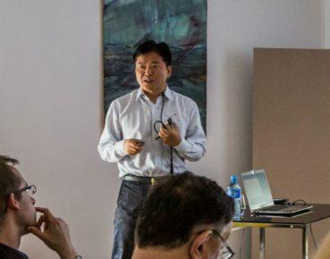 Yang Du (Fot. Instytut Badań Strukturalnych)