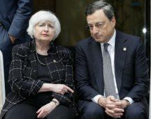 Janet Yellen broni pokryzysowych regulacji, Mario Draghi popiera wolny handel