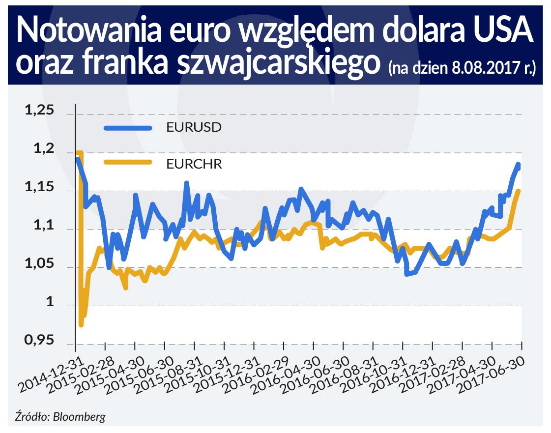 Ocena perspektyw euro obarczona sporym ryzykiem