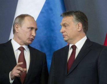 Putin Orban Fot PAP