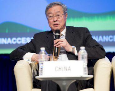 Zhou Xiaochuan, prezes Ludowego Banku Chin (CC BY-NC-ND 2.0 Joy Asico, World Bank)