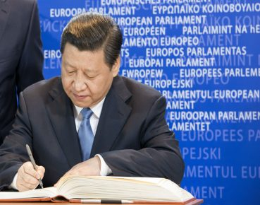 Xi Jinping Parlament Europejski CC By European Parliament