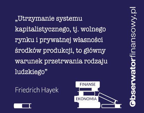 Algorytm rynkowy i zakres działania rządu - refleksje na temat idei Hayeka