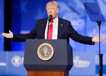 Trump CC By Michael Vadon