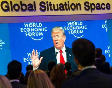 Trump CC By NC SA WEF