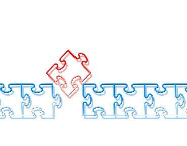 puzzle fuzje i przejecia CC0 Pixabay