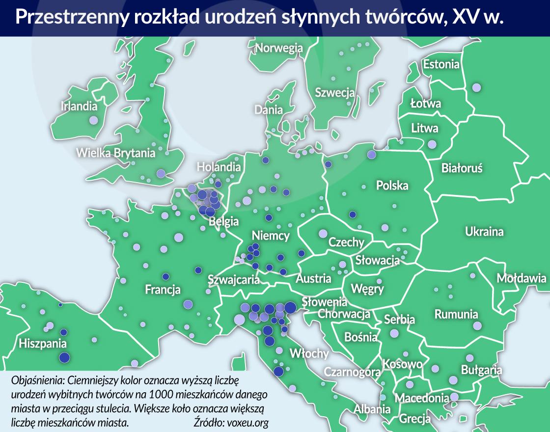slynni tworcy w Europie XIV w_otwarcie